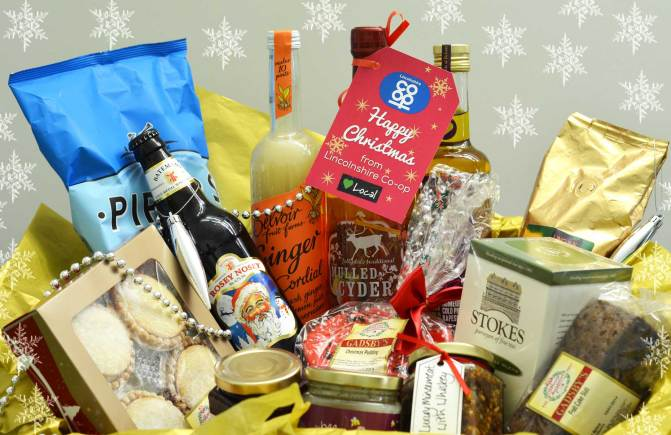 Enter our draw for a chance to win win this Love Local Christmas hamper.