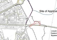 The section of Hawthorn Road which will be affected by the Eastern Bypass.