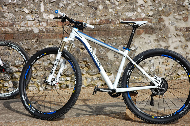 A 'Grand Canyon 7.9' bike, made by Canyon.