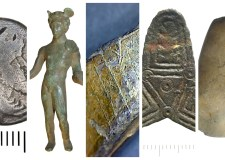 Lincolnshire Archeological finds Collage