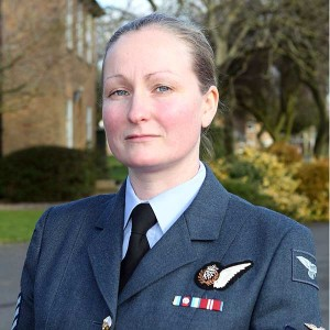 Sgt Nicki Appelbe. photo: RAF Waddington