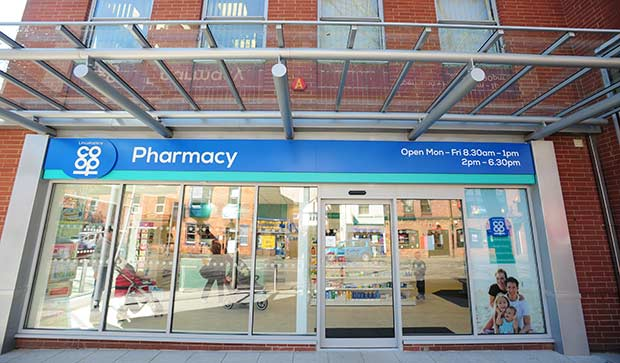 The new pharmacy. Photo: Lincolnshire Co-op