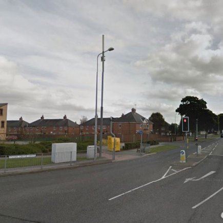 Outer Circle Road in Lincoln, near the fire station. Photo: Google Street View