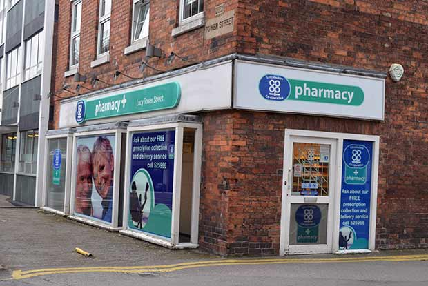The current Co-op pharmacy on Lucy Tower Street will move inside the Newland Health Centre.