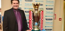City of Lincoln Council Chief Executive Andrew Taylor posing with the trophy. Photo: Steve Smailes for The Lincolnite