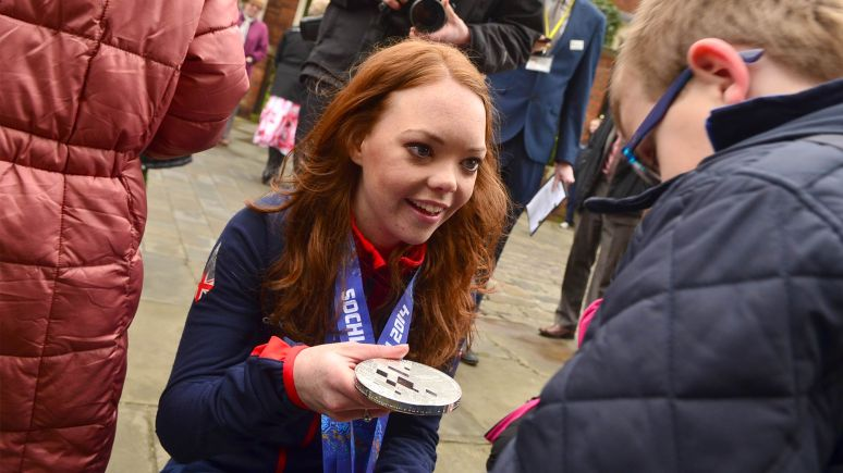Jade greeting her fans. Photo: Steve Smailes for The Lincolnite