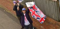 Lincoln residents took to the street to congratulate Jade. Photo: Steve Smailes for The Lincolnite