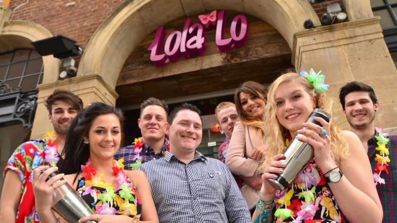 Lola Lo staff ready to party. Photo: Steve Smailes for The Lincolnite