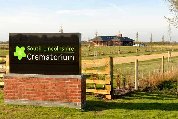 Lincolnshire Co-op's South Lincolnshire Crematorium in Surfleet.