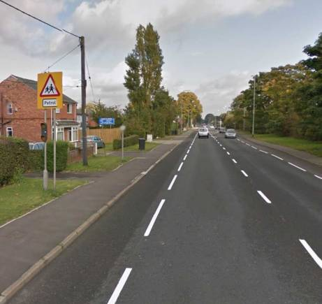 The area between The Forum and Asda in North Hykeham. Photo: Google Street View