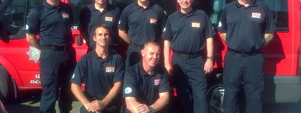 The team of seven Lincolnshire Fire and Rescue personnel joined the international mission to support the response to widespread flooding in the Balkans. Photo: Lincolnshire Fire and Rescue