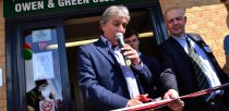 Sports broadcaster John Inverdale officiated the opening. Photo: Steve Smailes for The Lincolnite