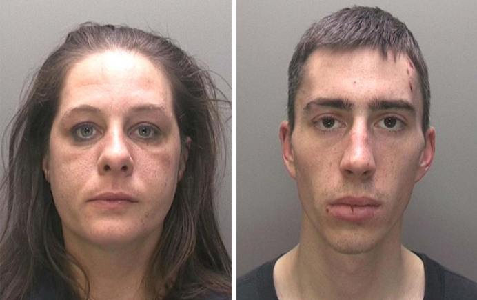 Kylee Orton (35) and Craig Wallard (24). Photos: Lincolnshire Police
