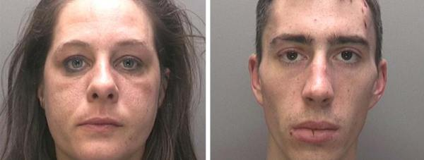 Kylee Orton (35) and Craig Wallard (24). Photos: Lincolnshire Police