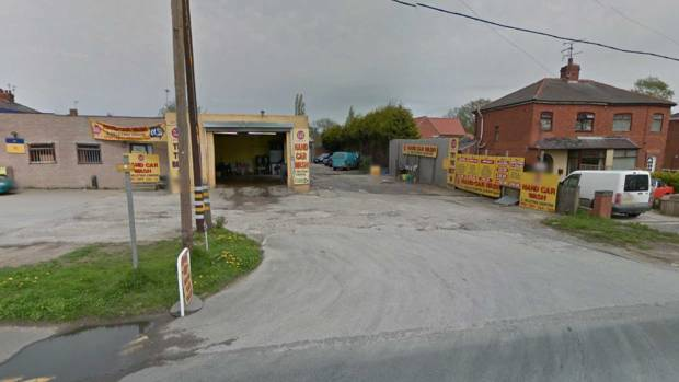 The car wash is situated behind the Jet garage on Newark Road. Photo: Google Street View