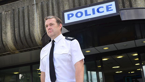 Chief Inspector Stewart Brinn. Photo: Steve Smailes for The Lincolnite