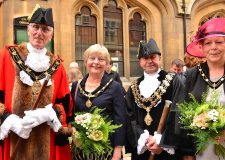 Councillor Brent Charlesworth was officially appointed as the Mayor of Lincoln on June 3. Photo: Steve Smailes for The Lincolnite