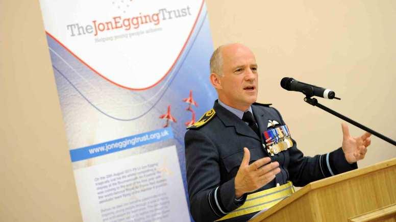 Air Vice Marshall Stuart Atha. Photo Stuart Wilde