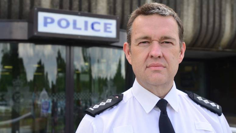 Chief Inspector Stuart Brinn. Photo: Steve Smailes for The Lincolnite