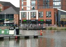 The Brayford Quays on Brayford Pool in Lincoln. Photo: File/The Lincolnite