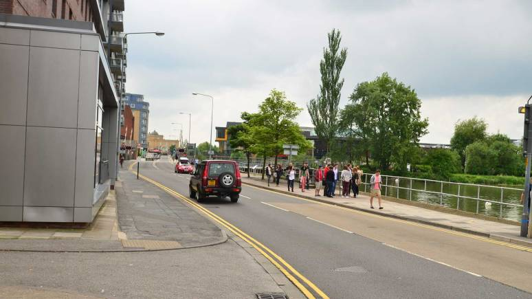 Brayford Wharf East in Lincoln. Photo: Steve Smailes/The Lincolnite