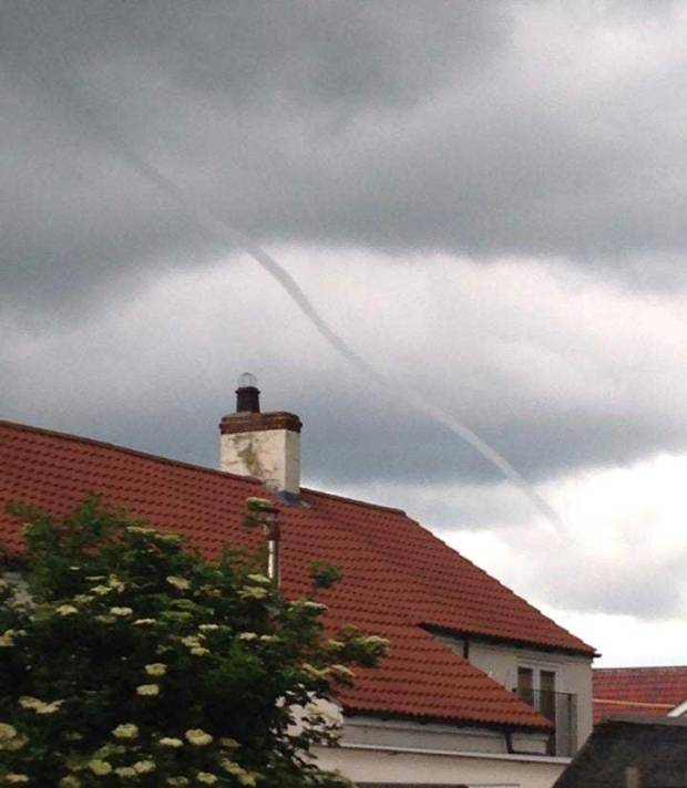 Charlotte Batty also spotted the tornado from Welton on June 4, 2014