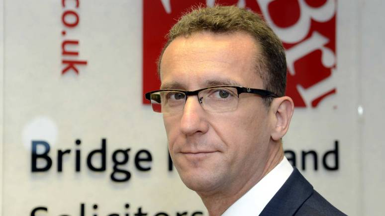 Rob Ripley from Bridge McFarland Solicitors, who secured the compensation for the Lincoln firm.