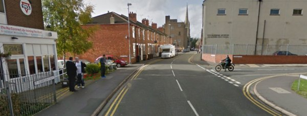 St Rumbold's Street, Lincoln. Photo: Google Street View