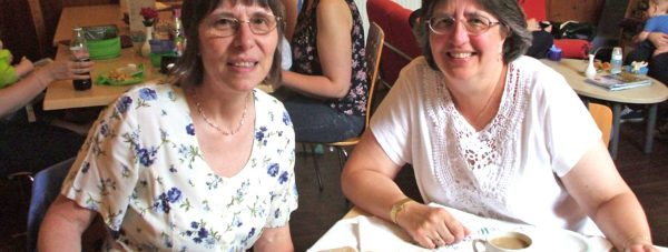 Alison Wootten the Supervisor and Ruth Hughes an Early Years Practitioner have worked a total of 37 years between them.
