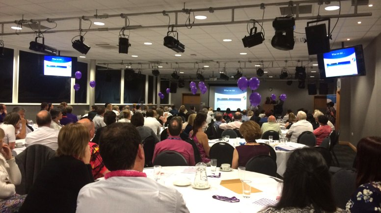 The end of year Listening into Action event at the Showroom in Lincoln celebrated efforts to improve services.