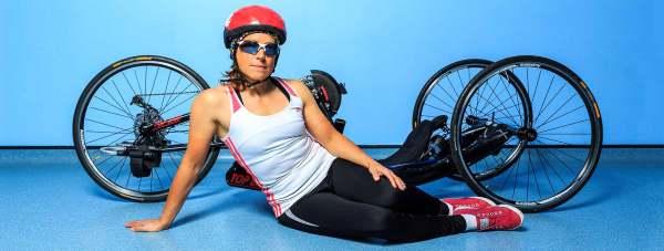 Paralympic Liz McTernan.