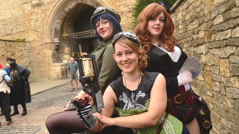 Last year's Steampunk Festival. Photo: Steve Smailes for The Lincolnite
