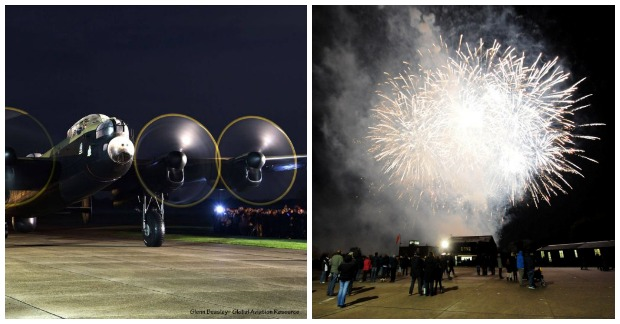 lancs fireworks  Collage