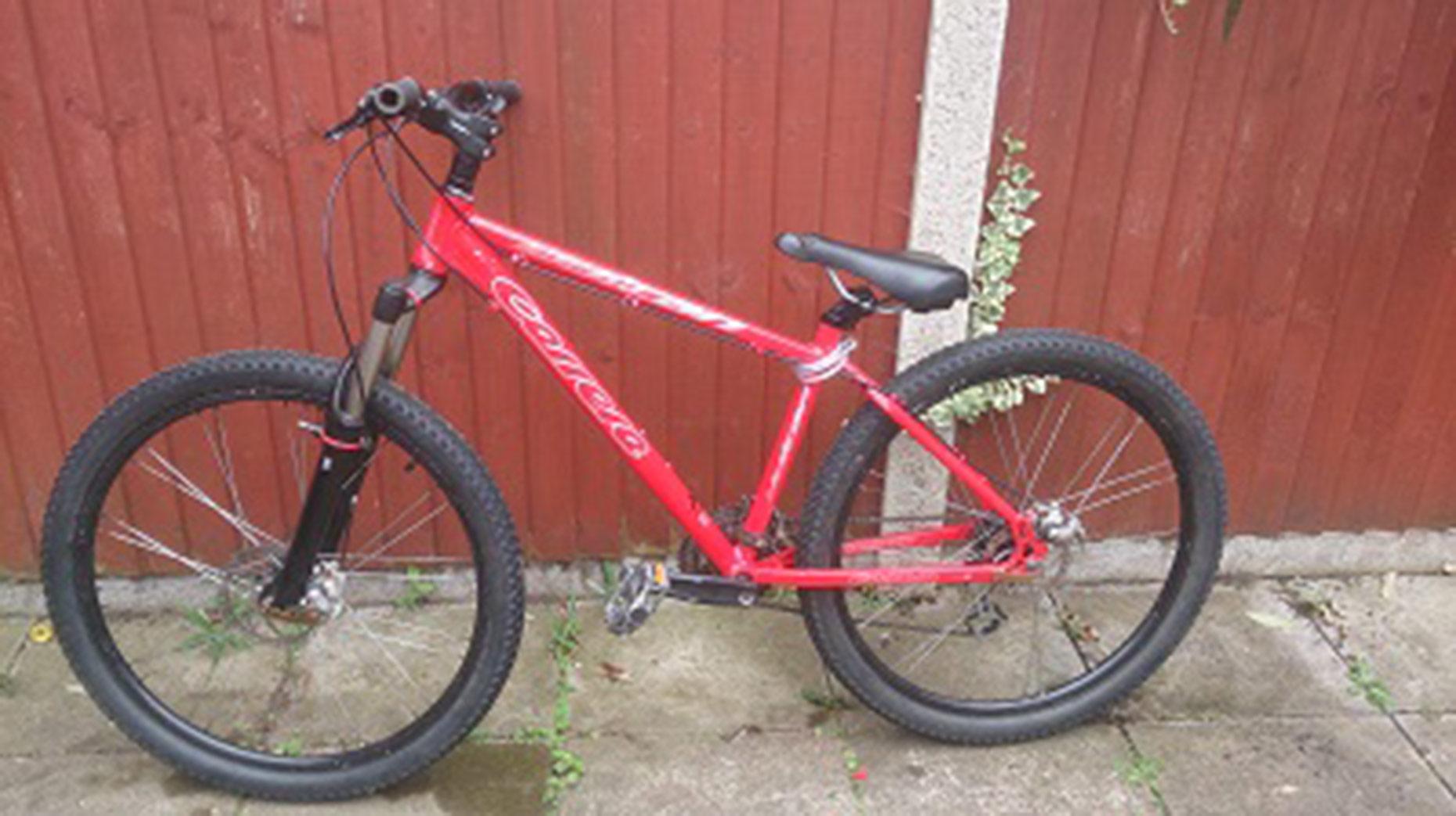 Mountain bike stolen from outside Lincoln Primark store