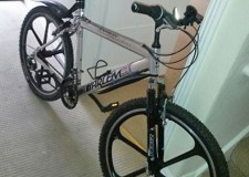 The Harlem Express men's mountain bicycle stolen in Lincoln.