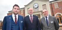 Branch Manager Andrew Turnbell, David Dernley, Head of Funeral Services at Lincolnshire Co-op and Area Manager Danny Doherty. Photo: Steve Smailes for The Lincolnite