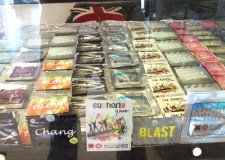 Stock displays at Marley's Head Shop in Lincoln, a legal highs supply store which has now closed.