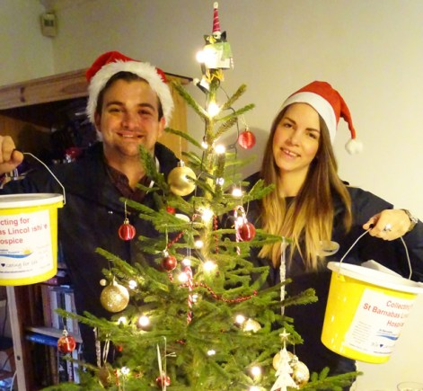 St Barnabas Lincolnshire Hospice is launching a brand new Christmas tree collection service.