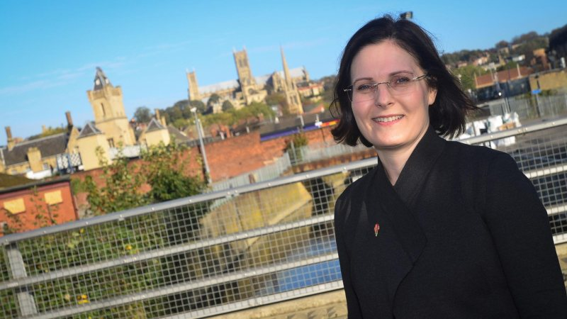 Ursula Lidbetter. Photo: Steve Smailes for Lincolnshire Business magazine