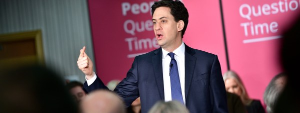 Labour leader Ed Miliband visited Lincoln for a People's Question Time session. Photo: Steve Smailes for The Lincolnite