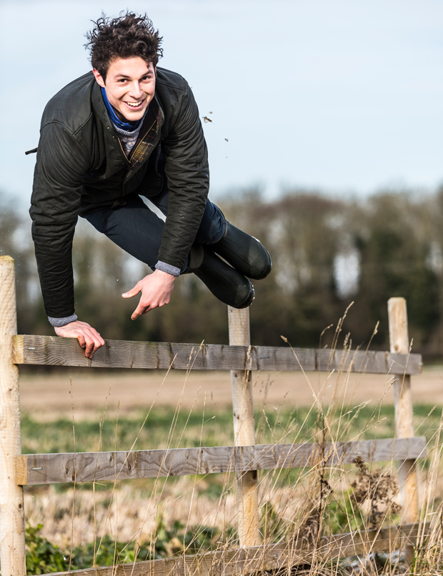 George, known to many as 'Granty', is an arable lad, farming with his dad near Market Rasen. Alongside their own arable business, they contract-farm sugar beet. Photo: Farmers Weekly