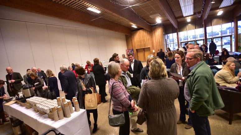 Networking at Transforming Tourism 2015. Photos by Steve Smailes