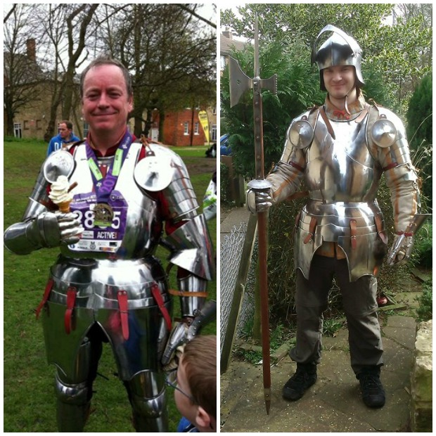 Fundraisers Kyle Senior and Paul Spence are gearing up to tackle the Lincoln 10K road race.