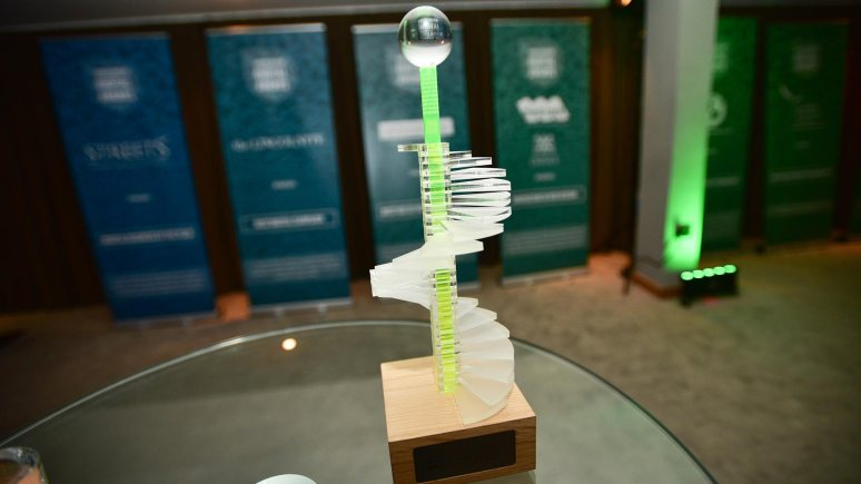 The unique Lincolnshire Digital Awards trophy for the 2015 event. Photo: Steve Smailes for Lincolnshire Business