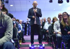 Jason Bradbury, Gadget Guru and guest speaker at the Lincolnshire Digital Conference 2015. Photo: Steve Smailes - The Lincolnite