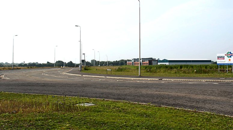 The Teal Park site in North Hykeham.