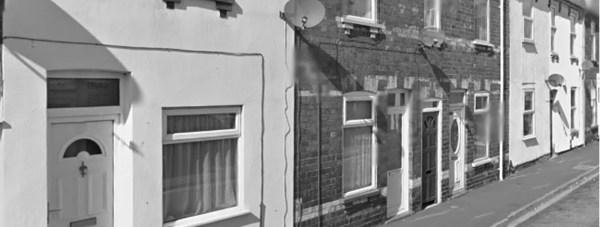 Houses on Little Bargate Street, Lincoln. Photo: Google Street View