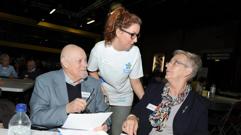 Members of the audience at the dementia conference in Lincoln. Photo: Stuart Wilde