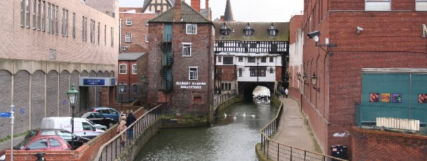 Glory Hole in Lincoln, linking with Water Lane. Photo: Richard Croft
