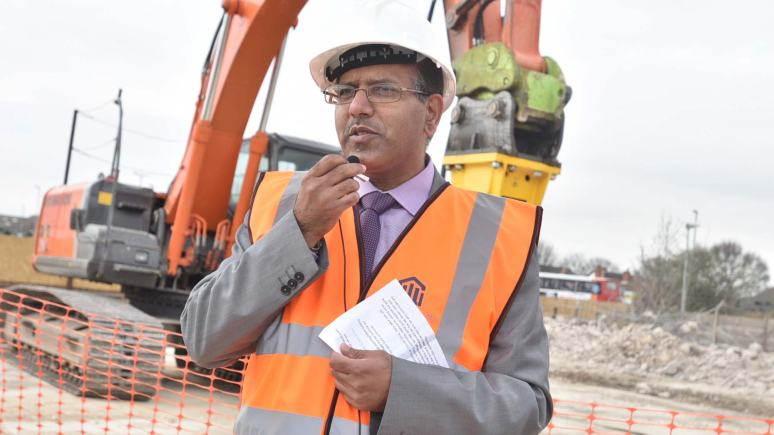 Dr Tanweer Ahmed, Chairman and Trustee for the Islamic Association of Lincoln. Photo: Steve Smailes for The Lincolnite